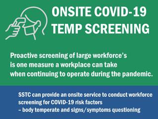 Workplace Temperature Screening!