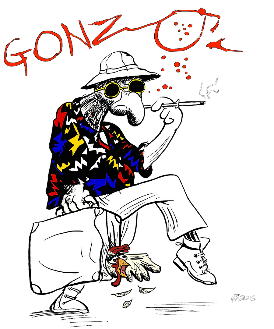 Gonzo (Fear and Loathing in Los Vegas Parody)