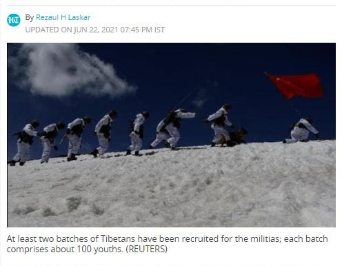 China goes ahead with bolstering PLA ranks with Tibetans at LAC