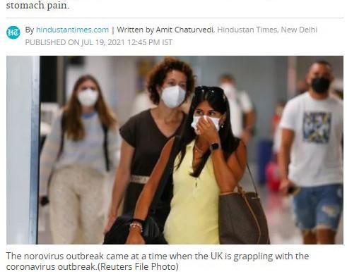 Norovirus outbreak in UK amid Wuhan virus resurgence