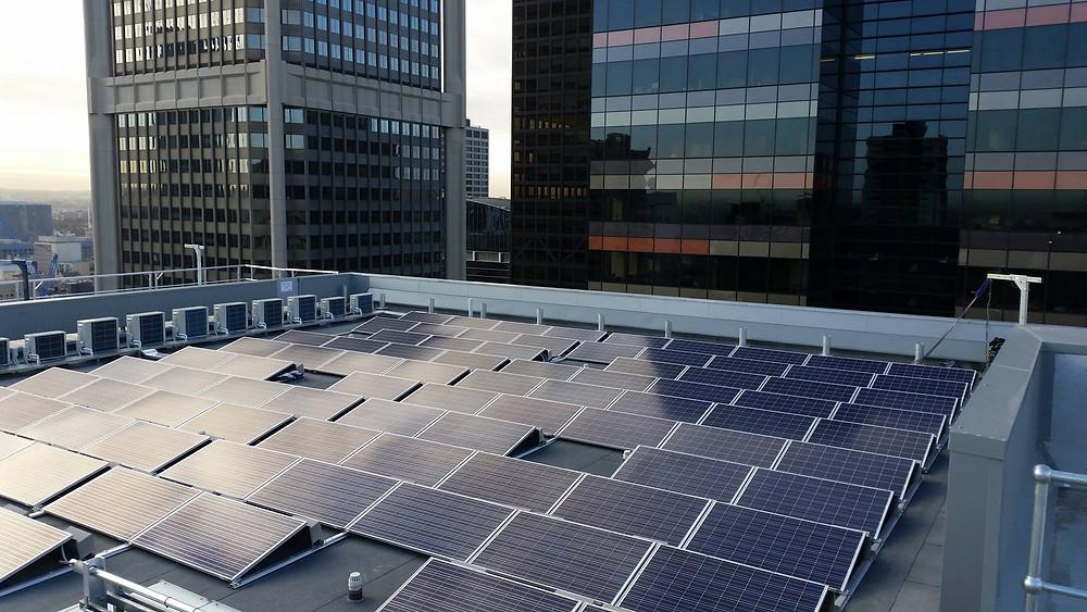 Ballast Solar Power System High Rise Commercial Solar