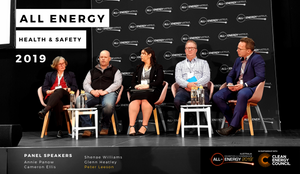 All-Energy Clean Energy Council  Peter Leeson, Work Safe