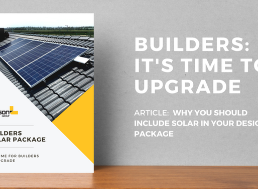 Solar Power for New Home Builder Packages