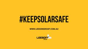 Keep Solar Safe. Solar Industry health and safety