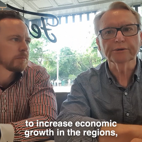 Interview on Loddon Mallee Economic Development with David Downie and Peter Leeson
