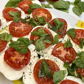 Simple Grilled Zucchini Caprese