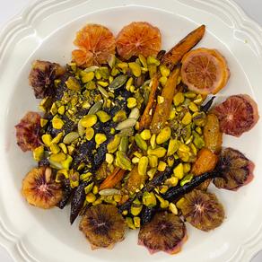 Citrus Roasted Carrots