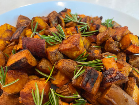 Maple Chili Sweet Potatoes