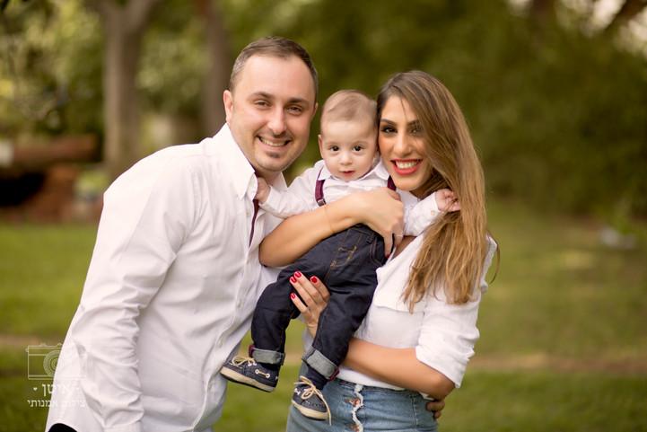 צילומי משפחה בטבע- משפחת מורוזוביץ׳