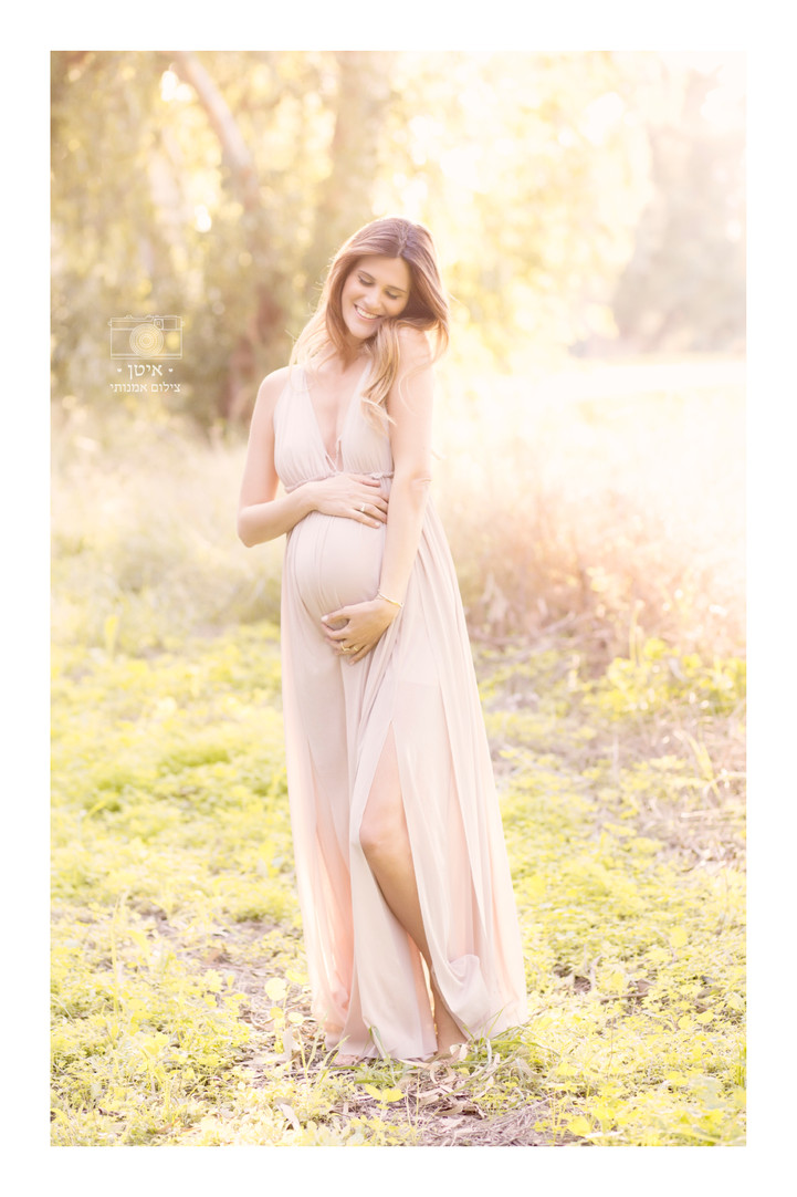 צילומי הריון בטבע להדס