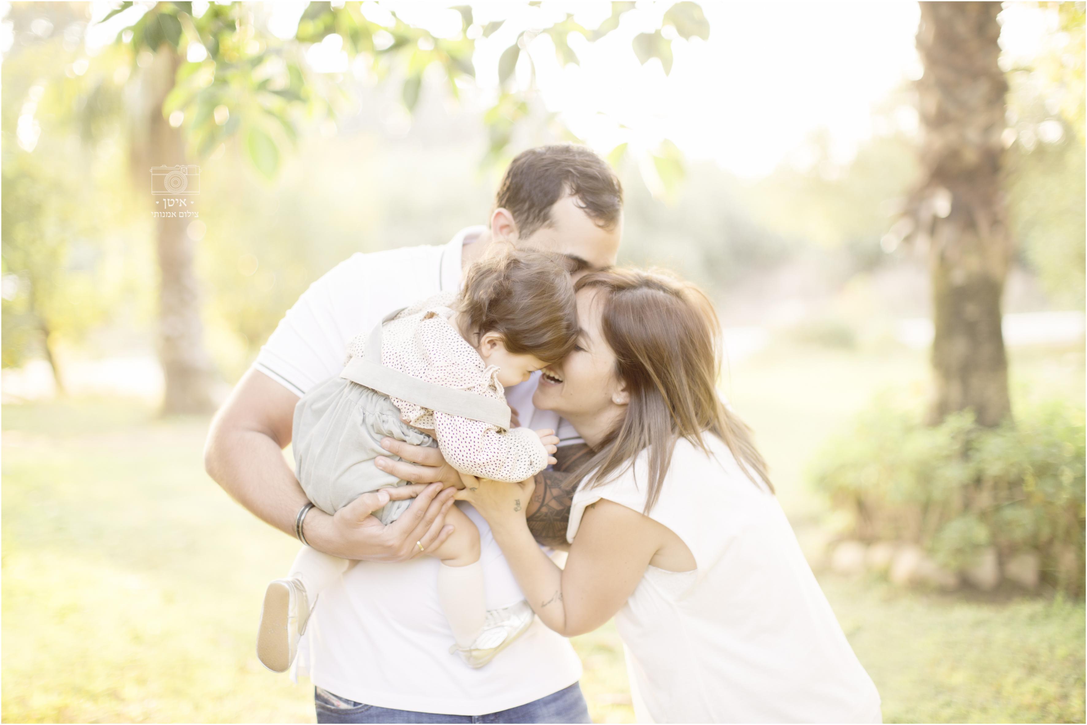 צילומי משפחה בטבע