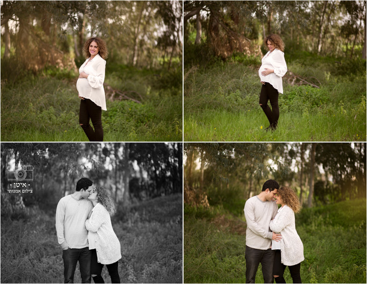 צילומי הריון בטבע למורן ויואב