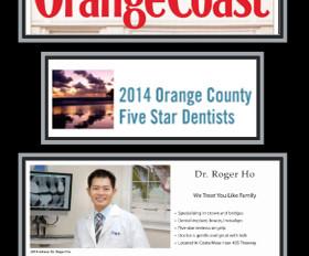 Orange Coast Magazine March 2014 OC's Five Star Dentists