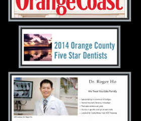Orange Coast Magazine March 2014 OC's Five Star Dentists