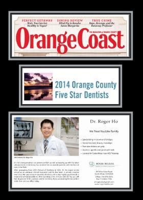 Orange county five star dentist