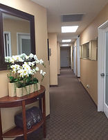 Dr. Roger Ho's office hall way