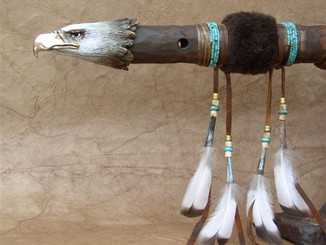 Native American Flute by Sue Polan