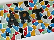 Mosaic Name Plate NP-05C