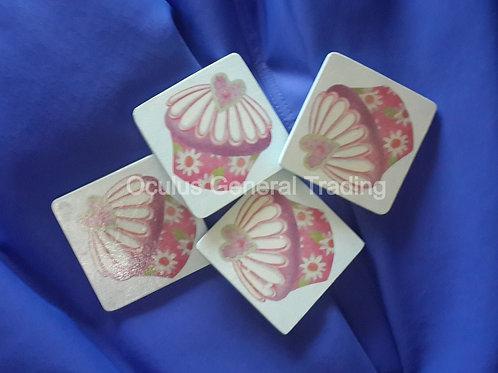 Coasters - 4 pieces