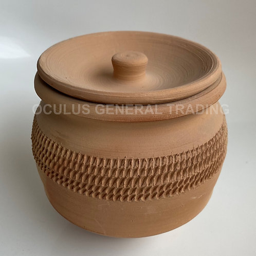 Earthenware - Pot with Lid