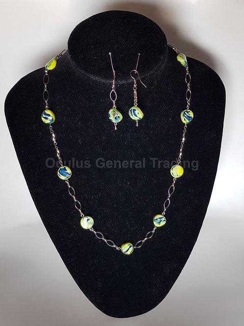 Chain & Earrings