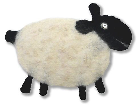 Fabber-Dabber Ewe Kids Sheep Wet Felting Kit