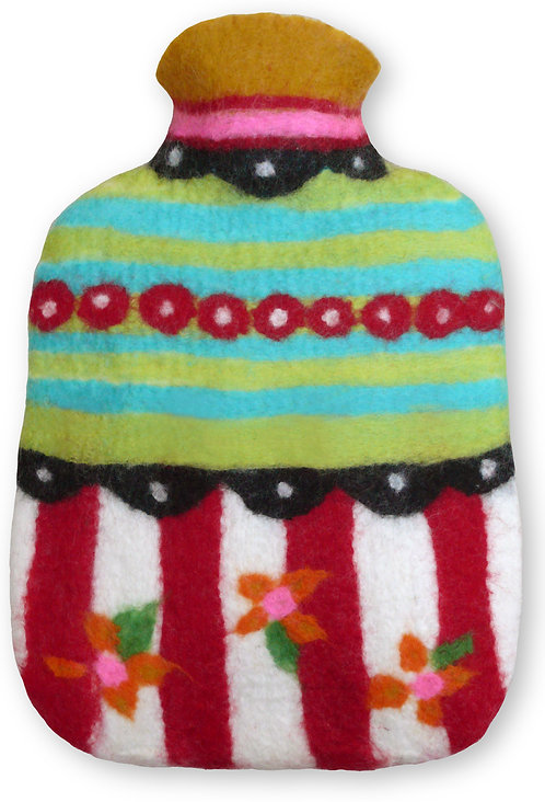 Hottie Bottie Hot water bottle cover Felting Kit L