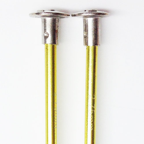 Knitting needles ALUM 2.75mm x 25cm yellow