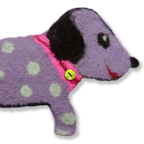 Doris Dogletti Kids Dog Felting Picture Kit
