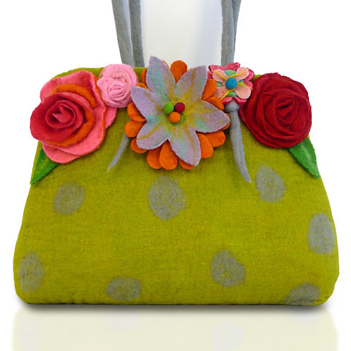 Glorious Gloria  Large Wet Felting bag Kit