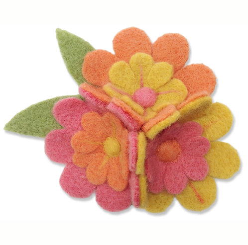 Blushing Blossoms Needle Felting Kit