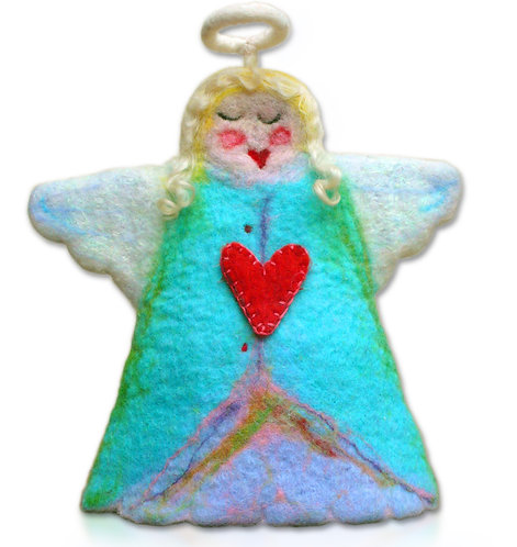 Hallelujah Hattie Large Felt Angel Wet Felting Kit