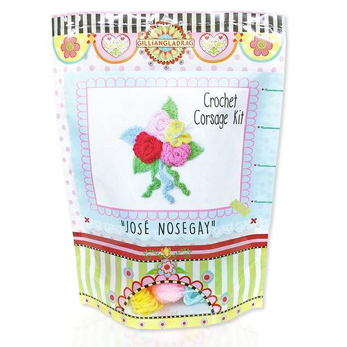 Jose Nosegay CROCHET Corsage Kit - order in 3's