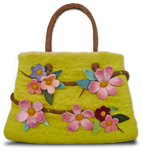 Vintage Vignette COMPLETE Wet Felting Bag Kit