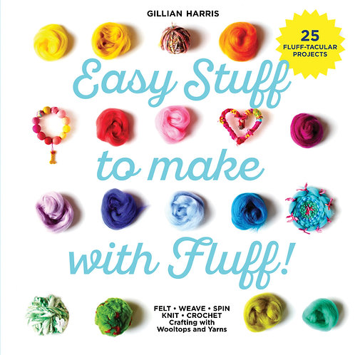 """""""Easy Stuff To Make with Fluff"""" by Gillian Harris (Signed Copy)"""