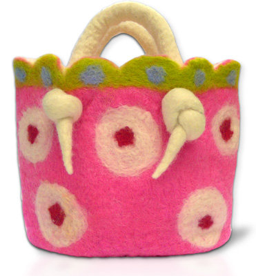 Ickle Pickle Fairy Basket Wet Felting Kit