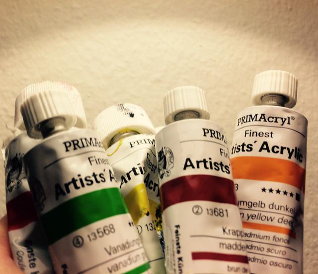 Neue abstrakte Kunst mit den besten Farben!