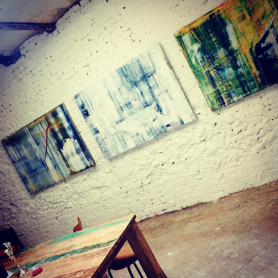 Neue abstrakte Bilder..