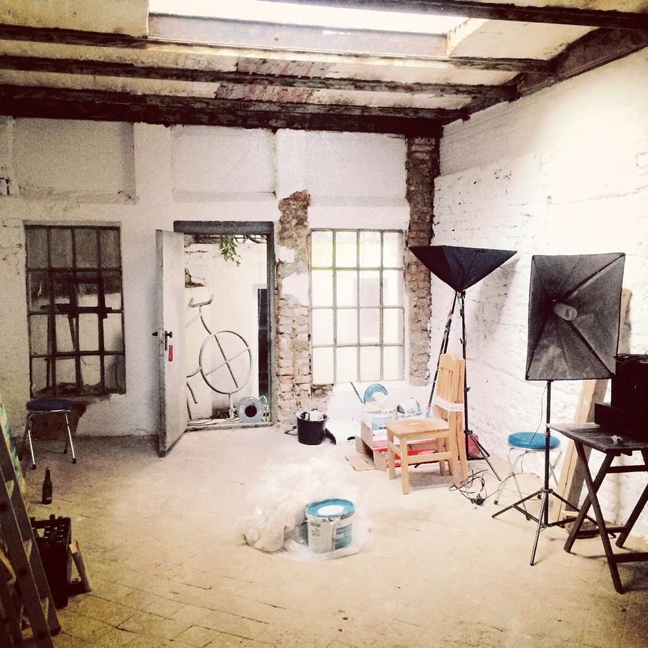 Neues Atelier - Vorfreude!