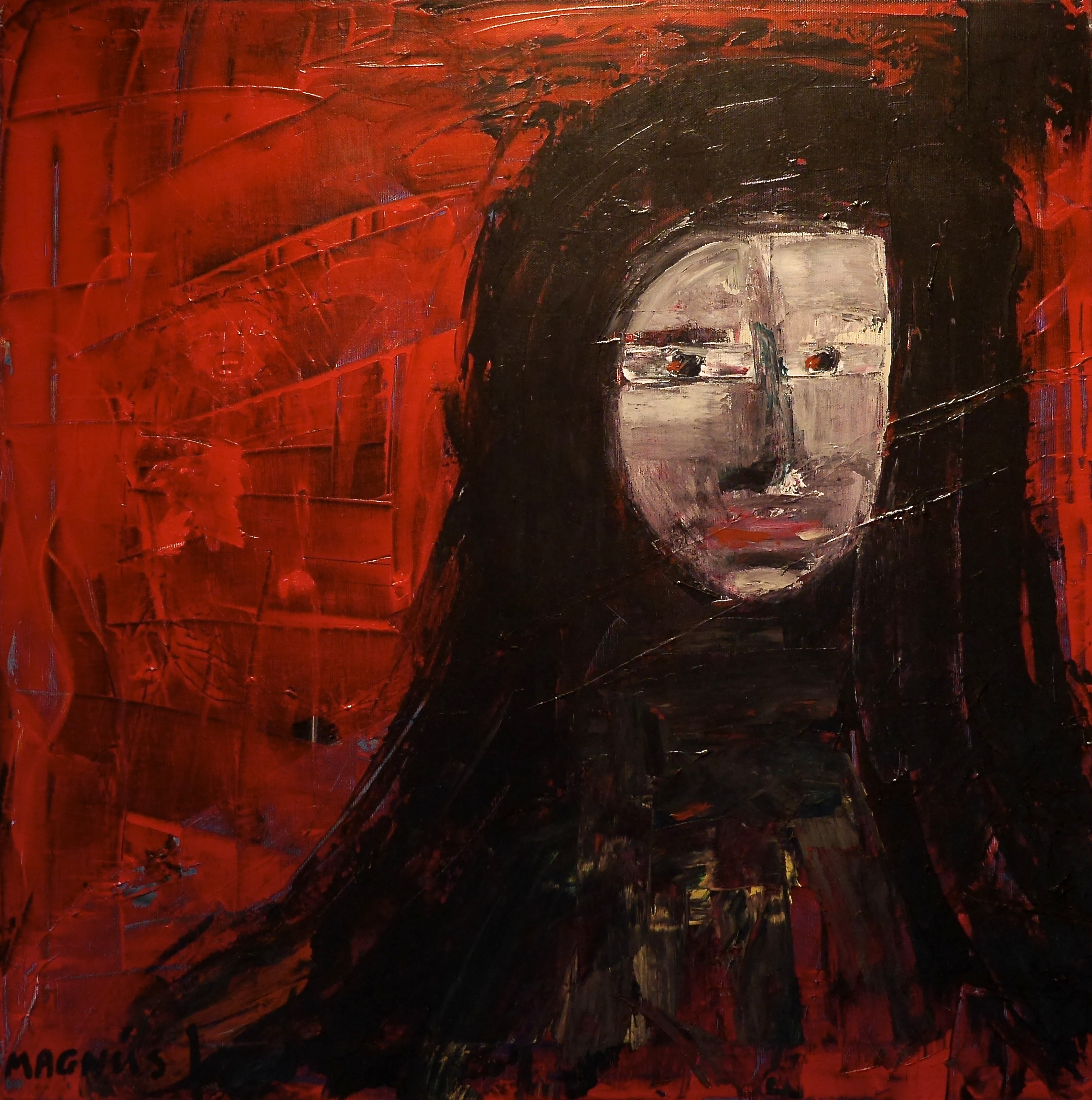 Red District - 60*60 cm