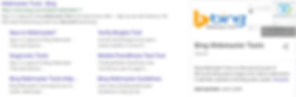 Bing Webmaster Tools is used to crawl and index your page.