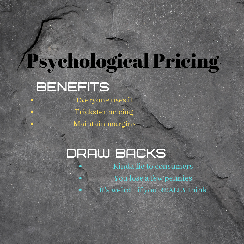 Psychological pricing is used by almost every company in America and can trick consumers into believing they are getting a good deal.