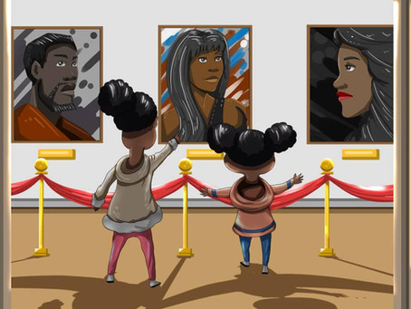 Children's Picture Book Encouraging Black Families to Explore London