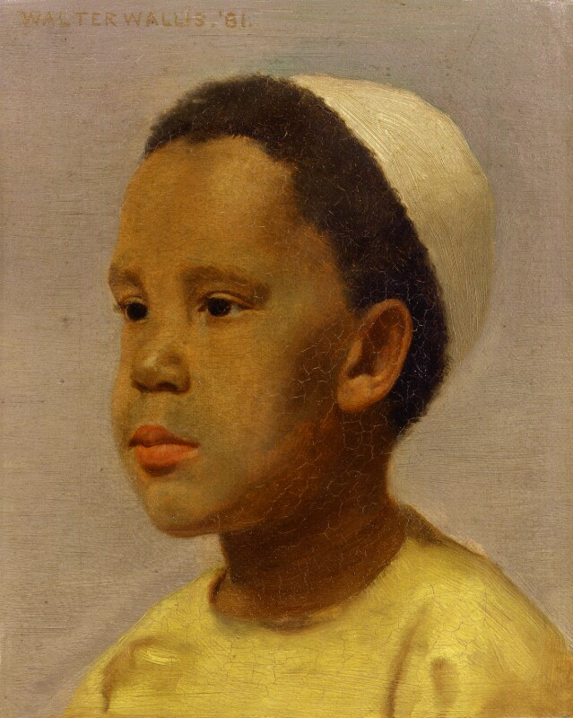 Samuel-Coleridge Taylor in oil by Wallis