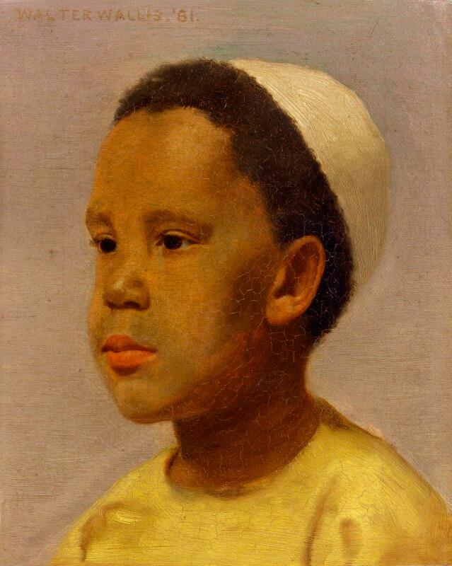 Samuel-Coleridge Taylor in oil by Walter Wallis