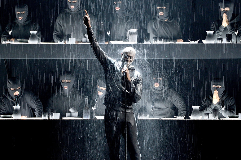 Stormzy Brit Awards 2018 Getty Images