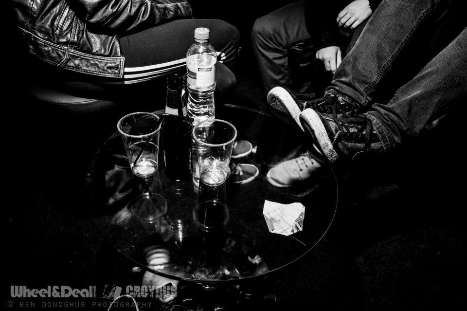 Drinks Up, Feet Up