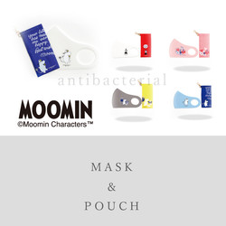 MOOMIN Mask & Pouch
