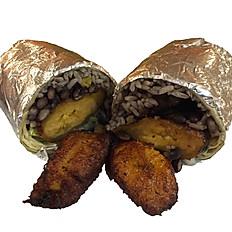Plantain Burrito