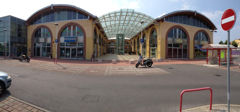 La galleria del Centro Civico